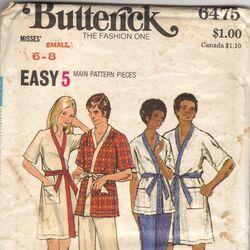 Butterick 6475 A