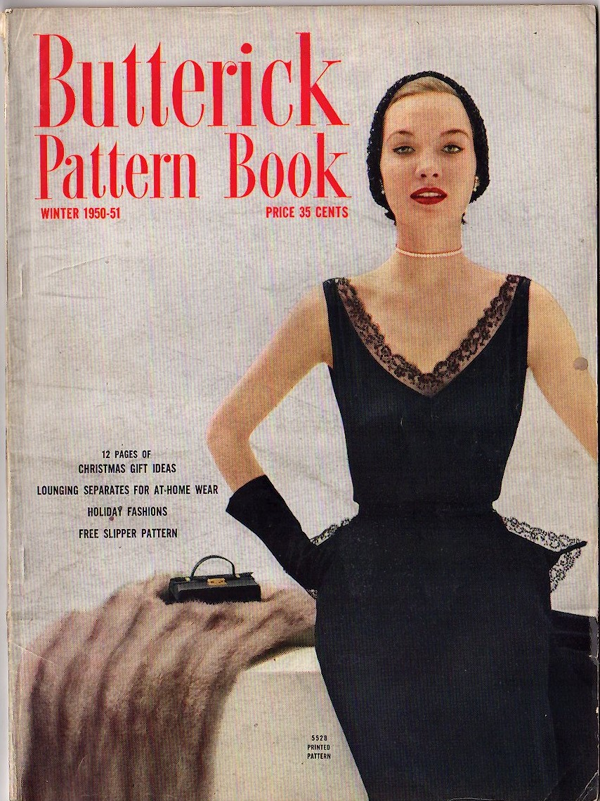 Butterick Pattern Book Winter 1950-51