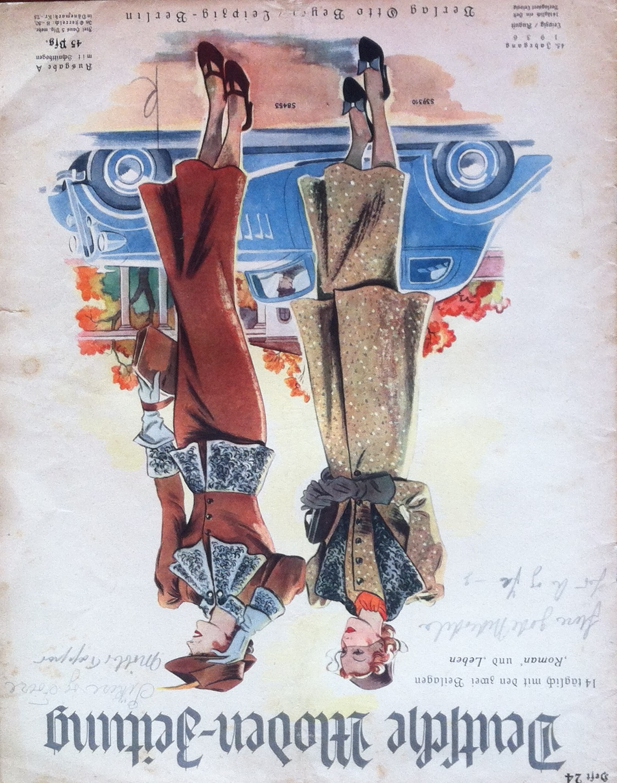 Deutsche Moden-Zeitung No. 24 Vol. 45 1936