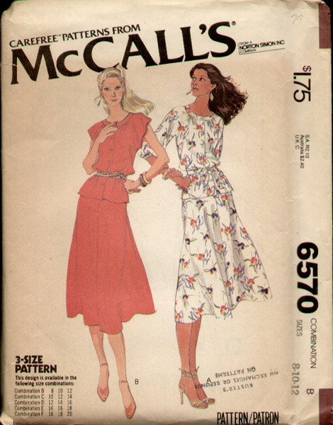 McCall's 6570 A