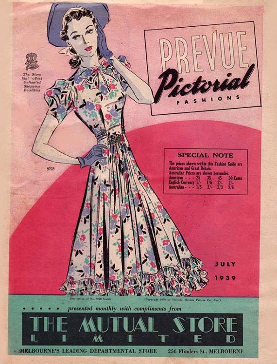 Pictorial Prevue July 1939