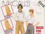 McCall's 2315 B
