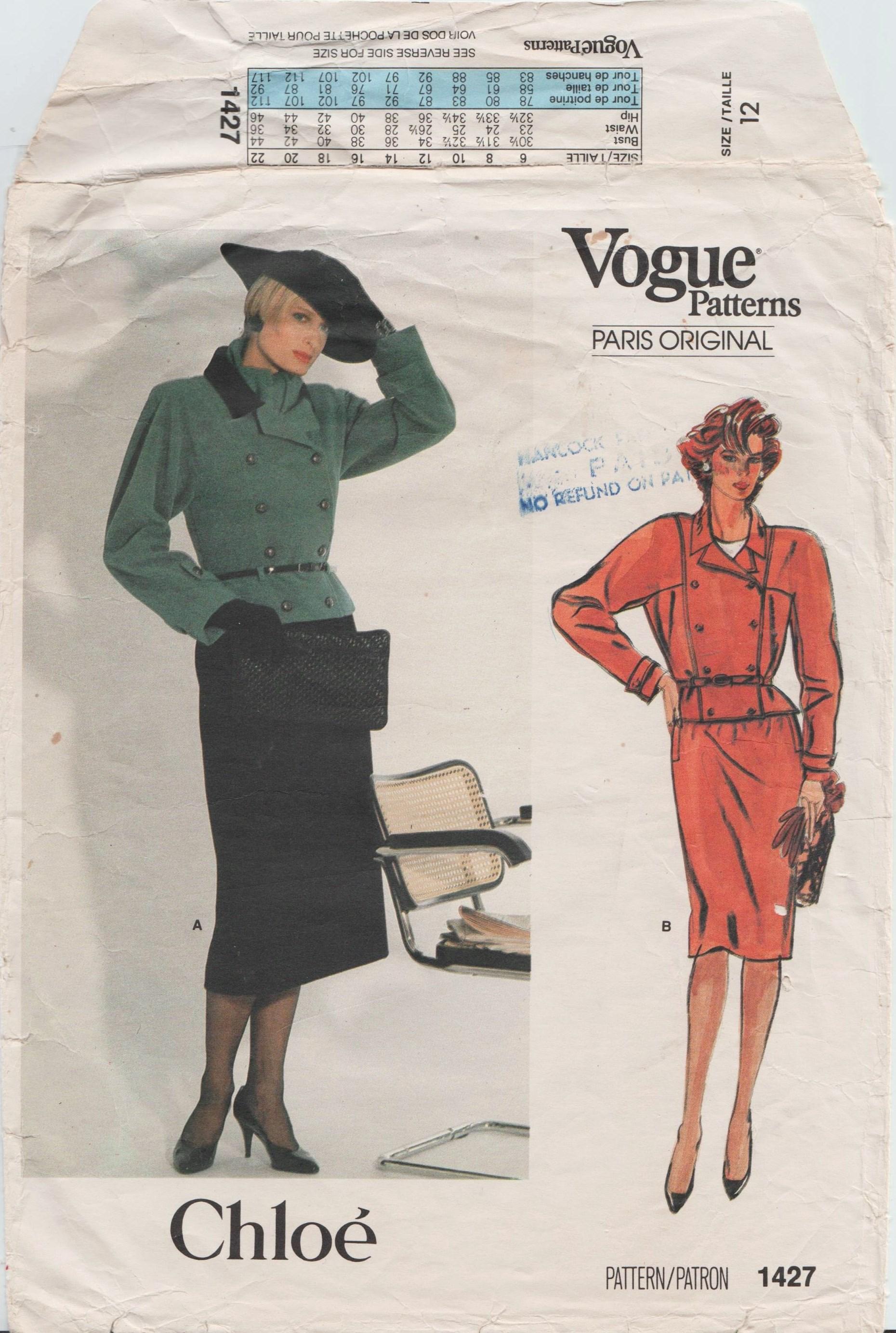 Vogue 1427 B
