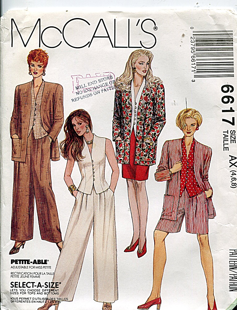 McCall's 6617 B