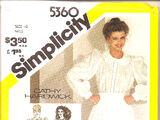 Simplicity 5360 A