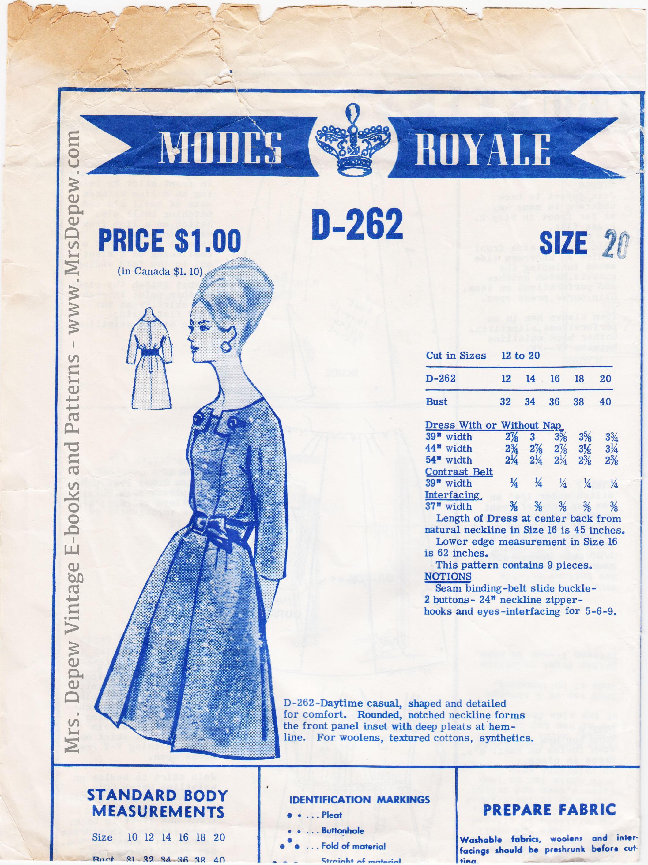 Modes Royale D-262