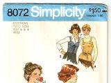 Simplicity 8072 A