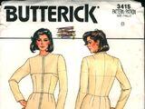 Butterick 3415 A