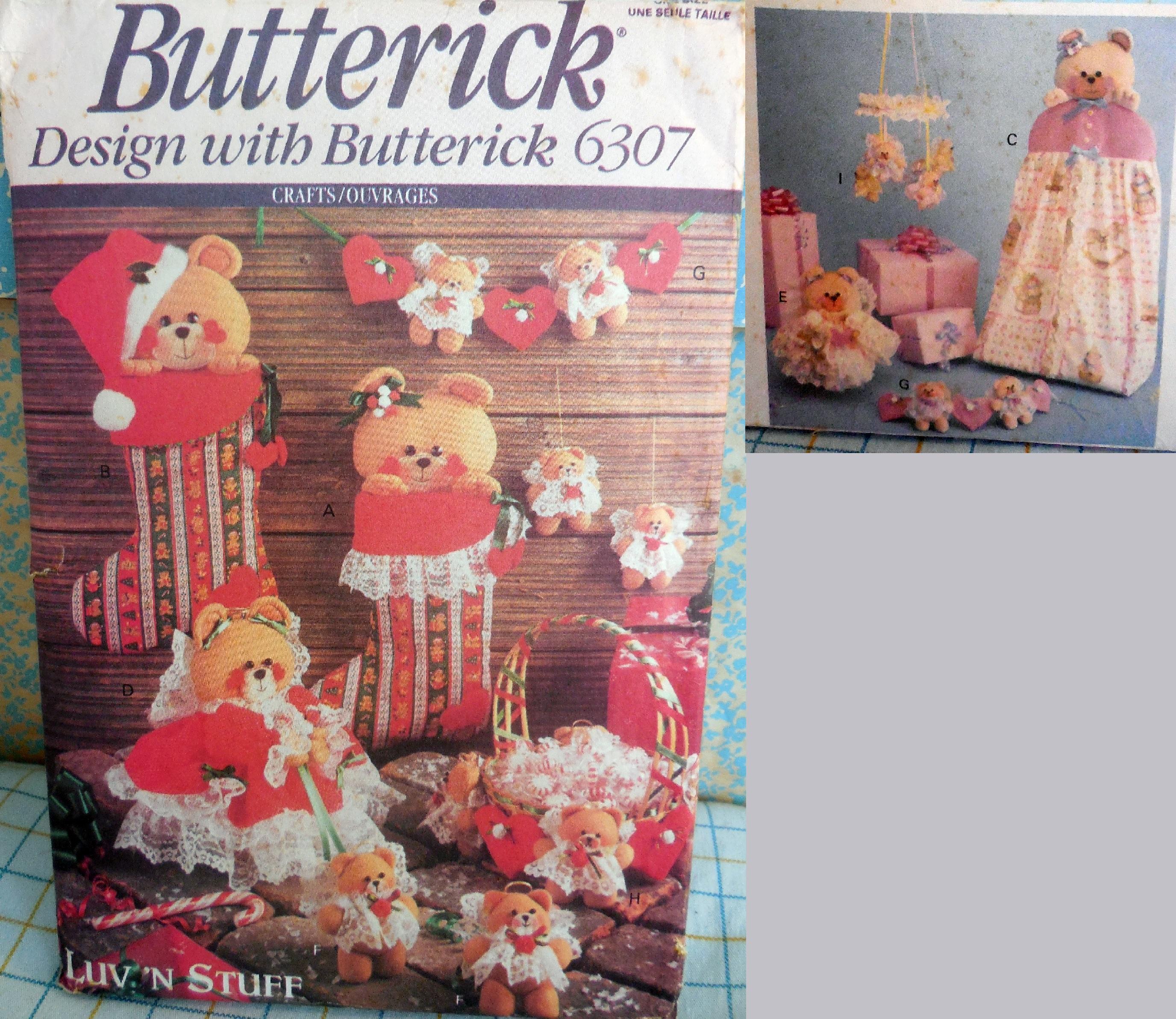 Butterick 6307 A