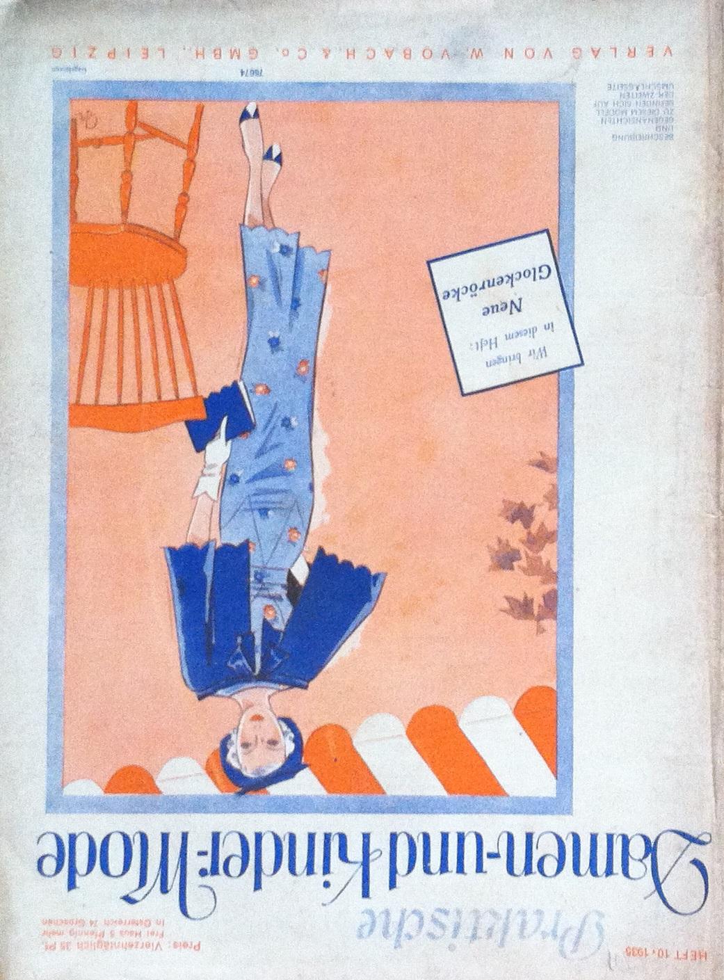 Praktische Damen- und Kinder-Mode No. 10 1935