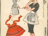 McCall's Sample Aprons A
