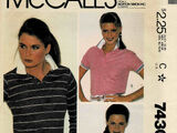 McCall's 7430 A