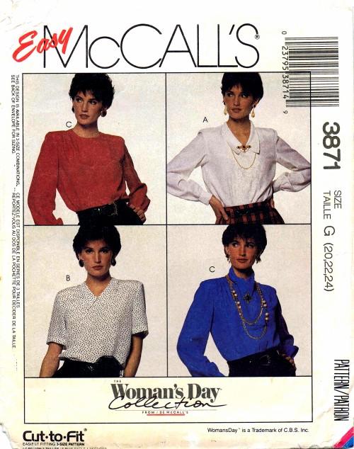 McCall's 3871 A