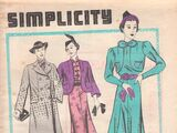 Simplicity Fashion Forecast March 1937