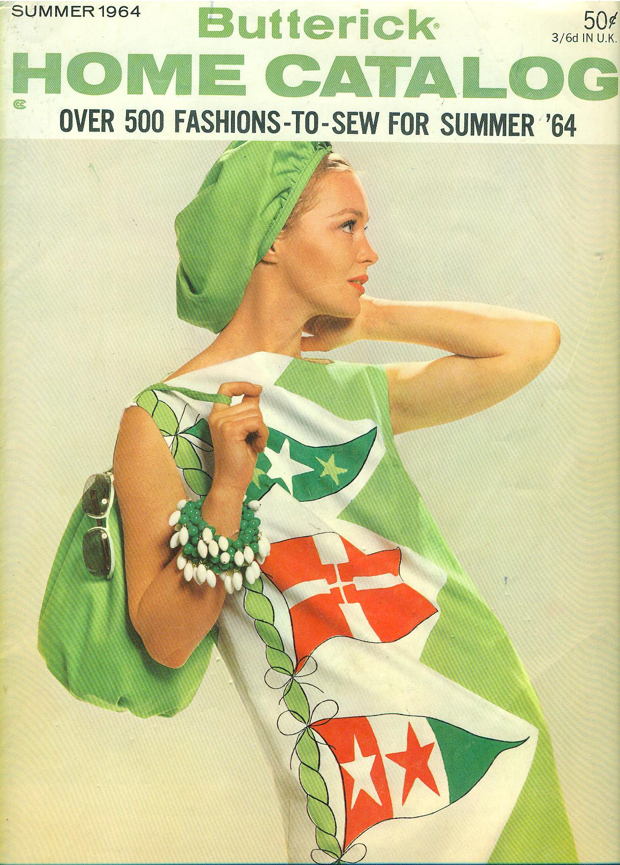 Butterick Home Catalog Summer 1964