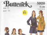Butterick 5928 A