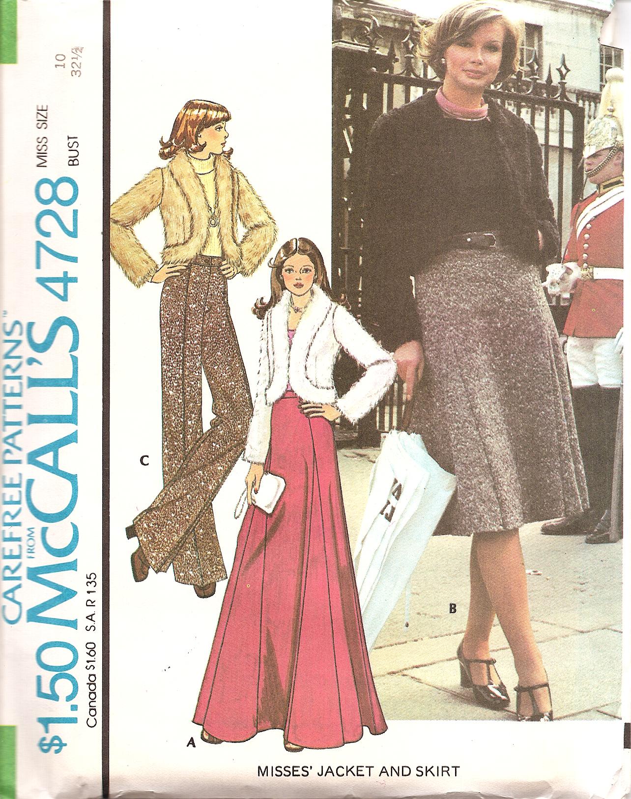 McCall's 4728