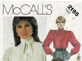 McCall's 2195 A