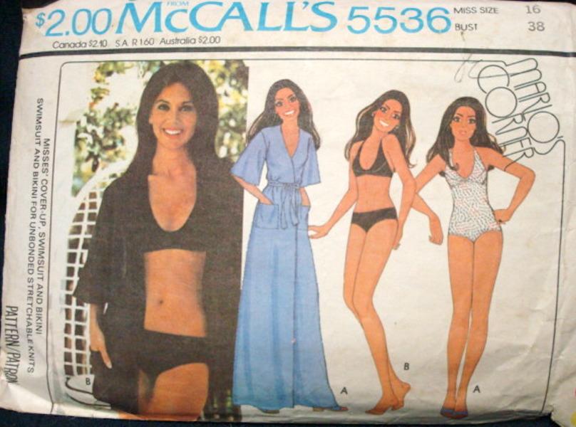 McCall's 5536 A