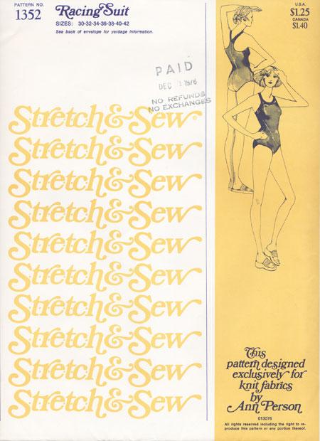 Stretch & Sew 1352
