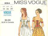 Vogue 8064 A