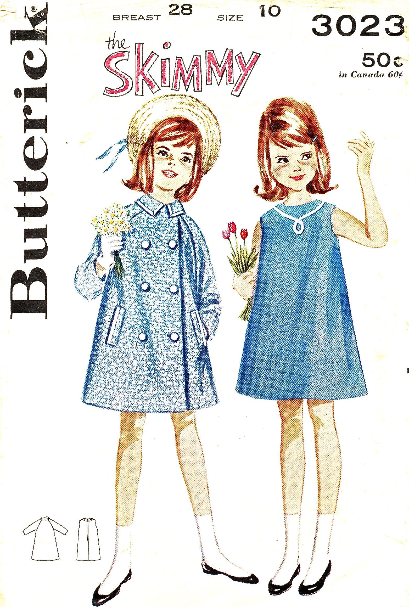 Butterick 3023 A