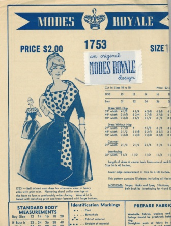 Modes Royale 1753