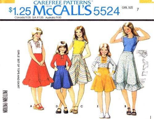 McCall's 5524