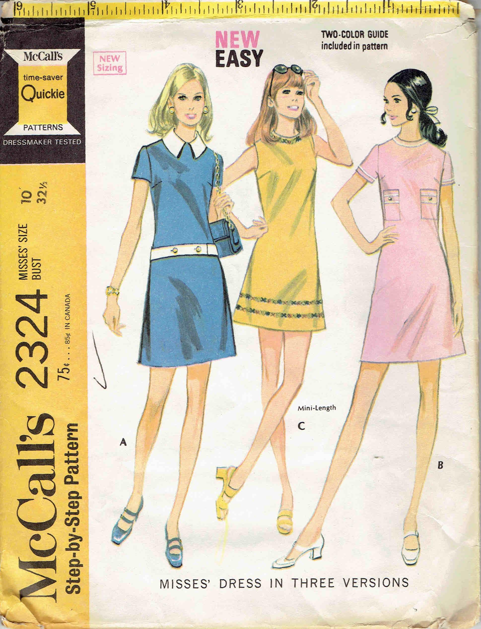 McCall's 2324 A