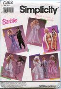 Simplicity 7362 Barbie