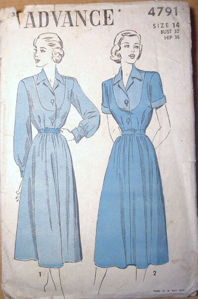 Misses' Dress ©1940's