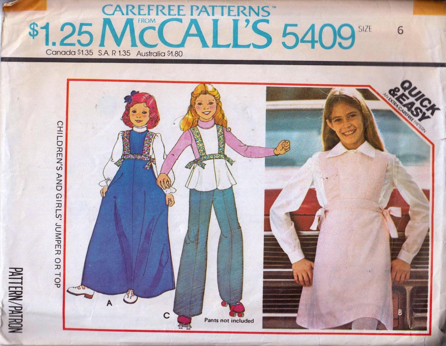 McCall's 5409