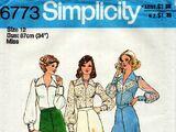 Simplicity 6773 A