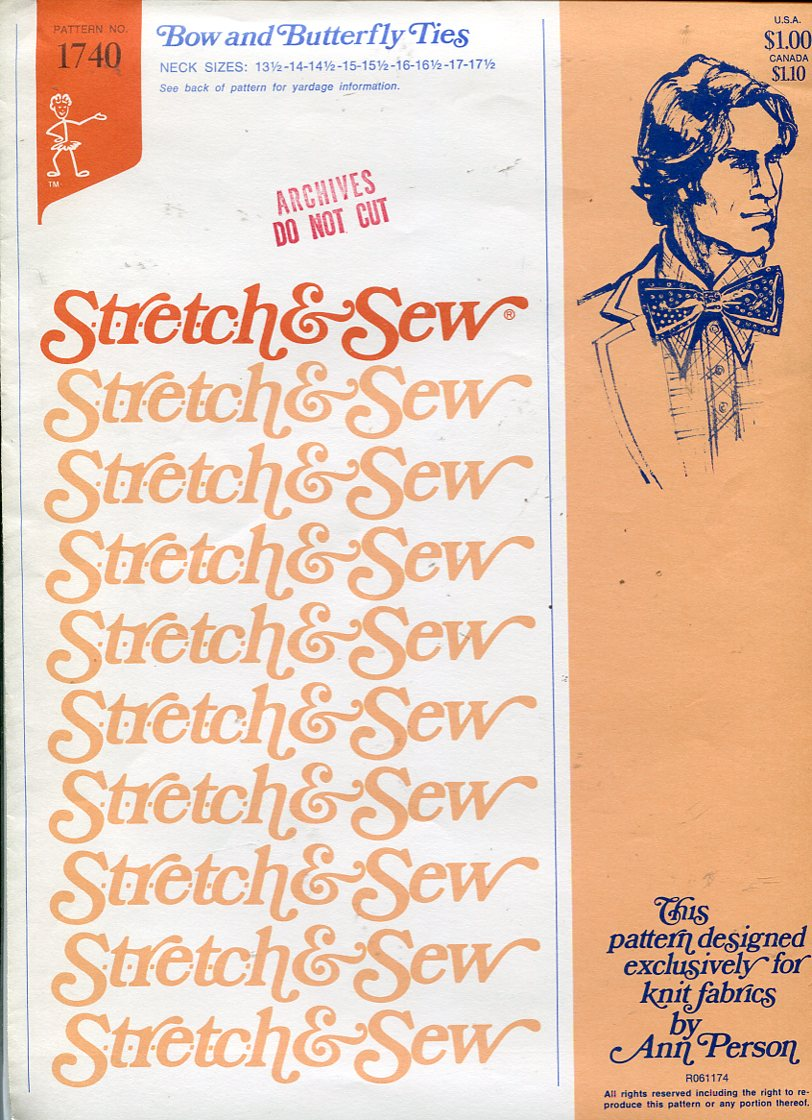 Stretch & Sew 1740