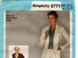Simplicity 9771 A