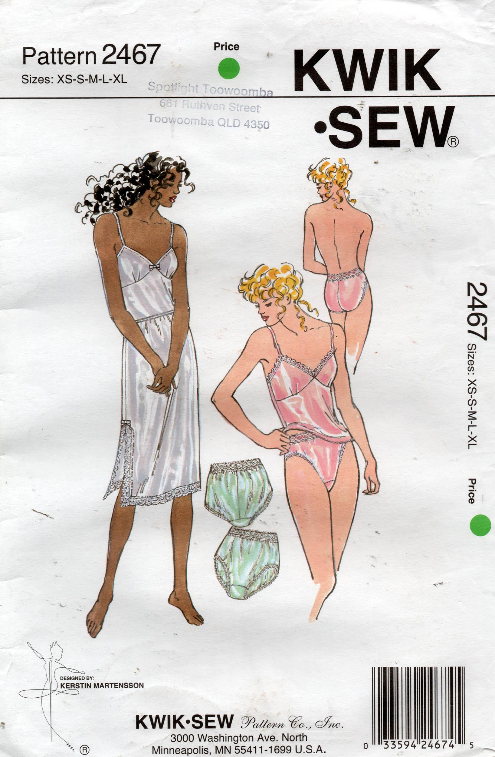 Kwik Sew 2467