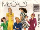 McCall's 5486 A