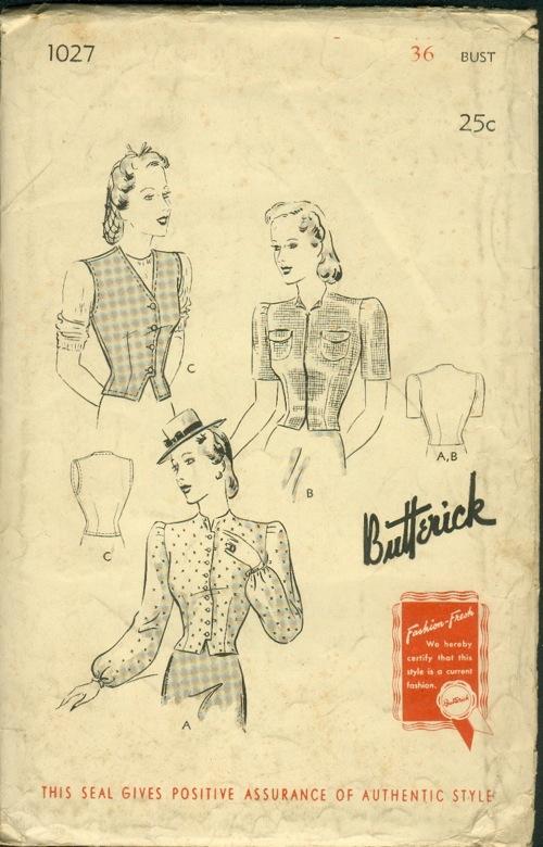 Butterick 1027
