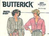Butterick 3301 A