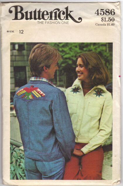 Butterick 4586 Misses' Jacket