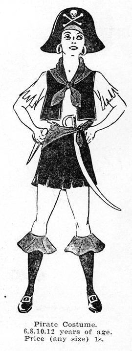 Weigel's Pirate Costume