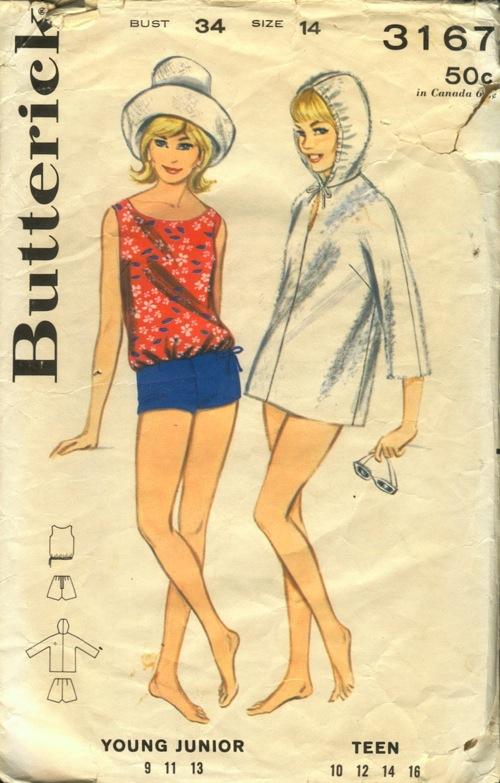Butterick 3167 A