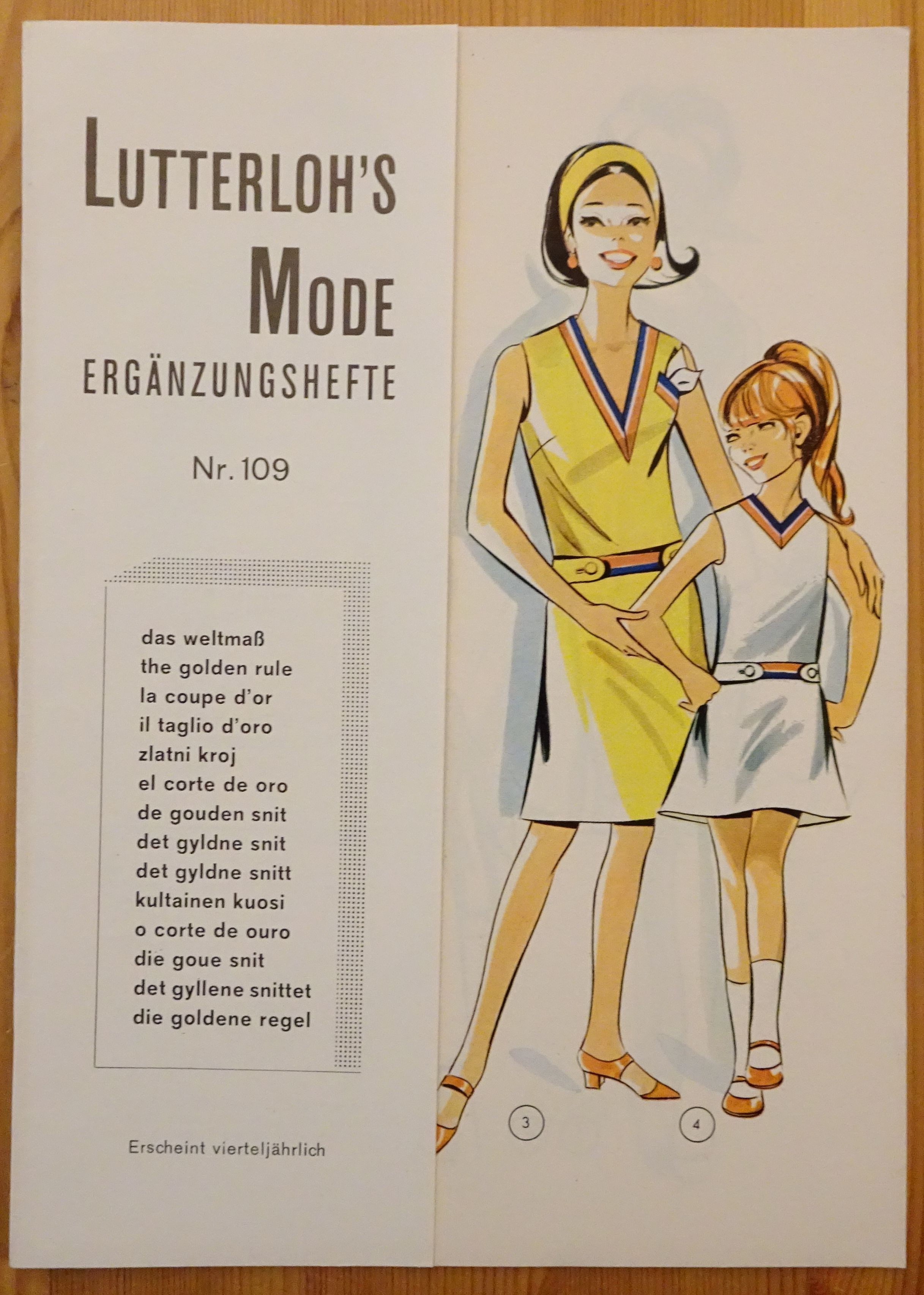 Lutterloh Supplement 109