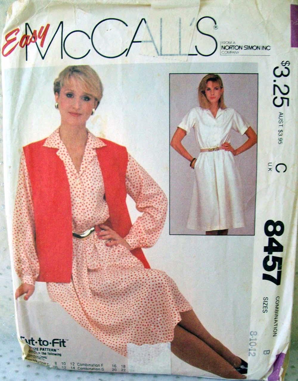 McCall's 8457