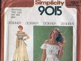 Simplicity 9015 A