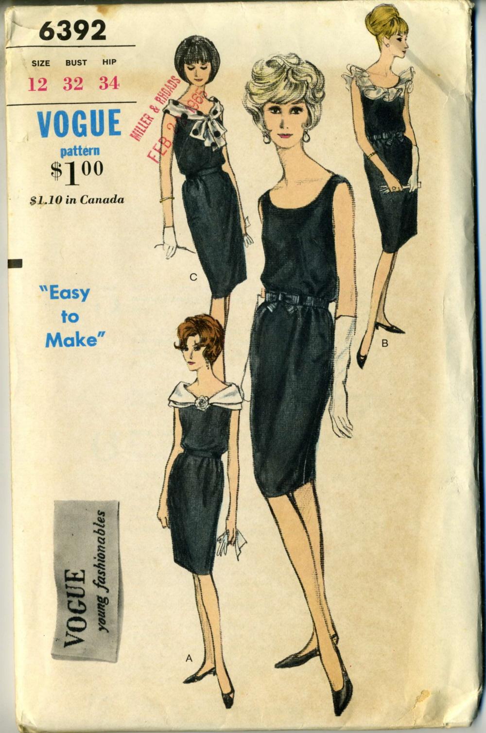 Vogue 6392 A
