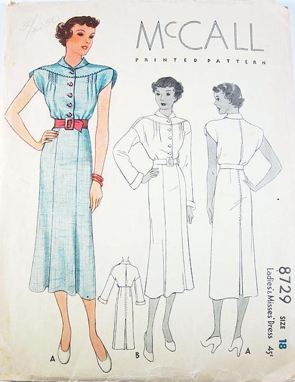 McCall 8729