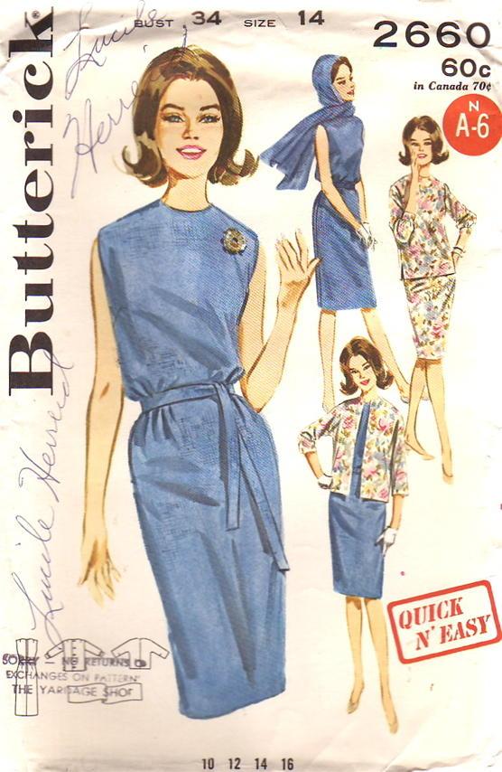 Butterick 2660