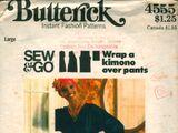 Butterick 4555