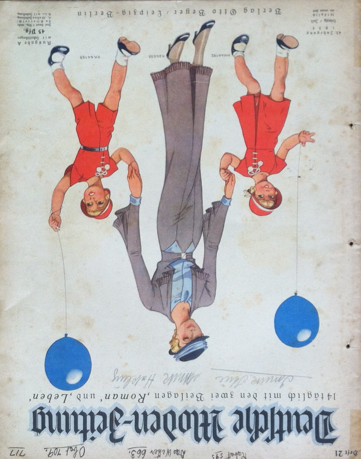 Deutsche Moden-Zeitung No. 21 Vol. 43 1933/34